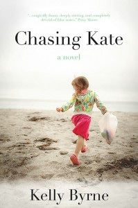 CHASING KATE novel cover by Author Kelly Byrne